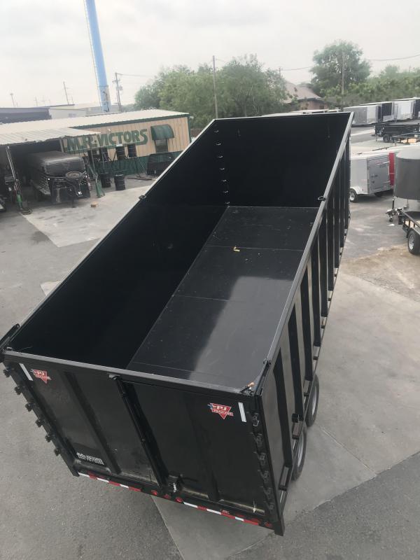 2020 PJ Trailers 83x20 Dump Trailer