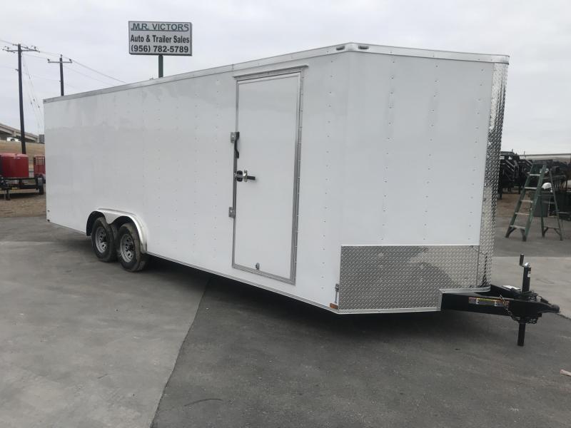 2021 Lark 8.5 X 24 Enclosed Cargo Trailer