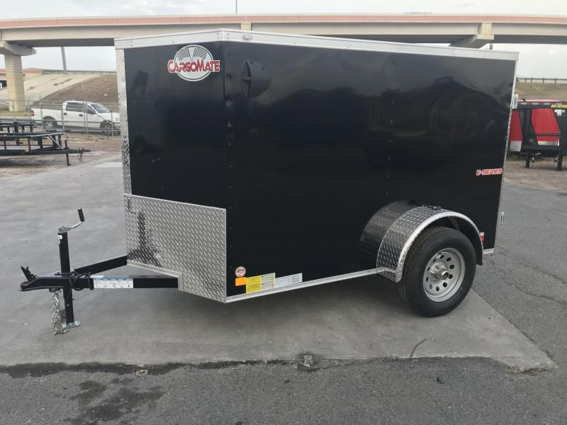 2021 Cargo Mate 5x8 Enclosed Cargo Trailer