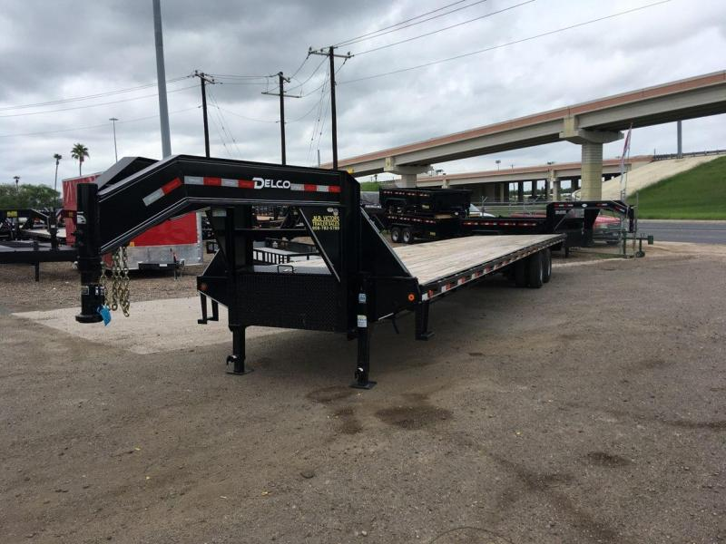 2020 DELCO 102X40 STRAIGHT DECK TRAILER