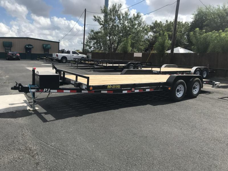 2021 PJ Trailers 83 x 20 Equipment Trailer