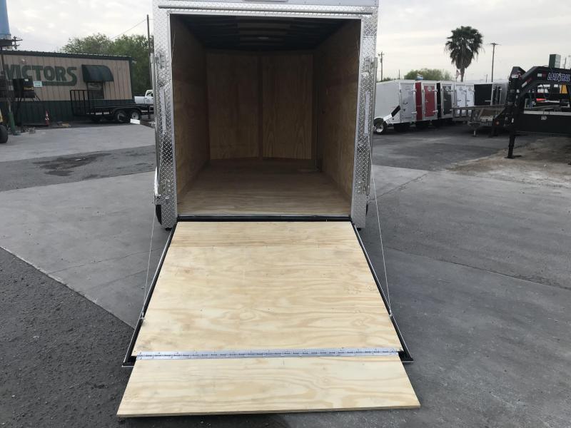 2021 Cargo Mate 6x12 Enclosed Cargo Trailer