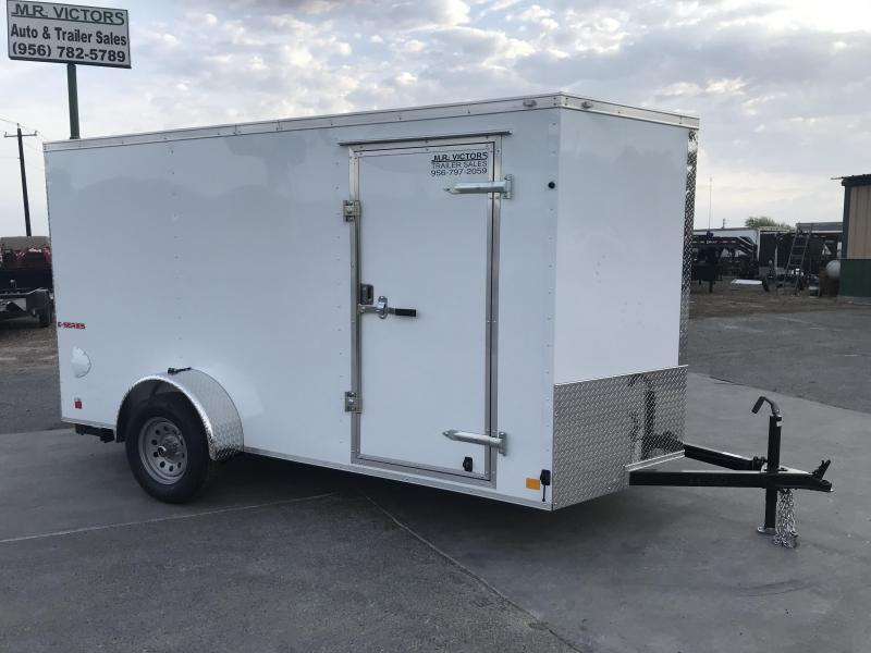 2021 Cargo Mate 6x12 Enclosed Cargo Trailer