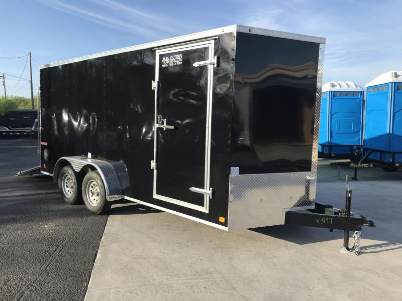 2020 Cargo Mate 7 x 16 Enclosed Cargo Trailer