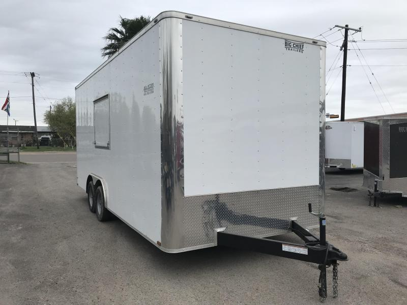 2020 LARK 8.5' X 20' CONCESSION TRAILER