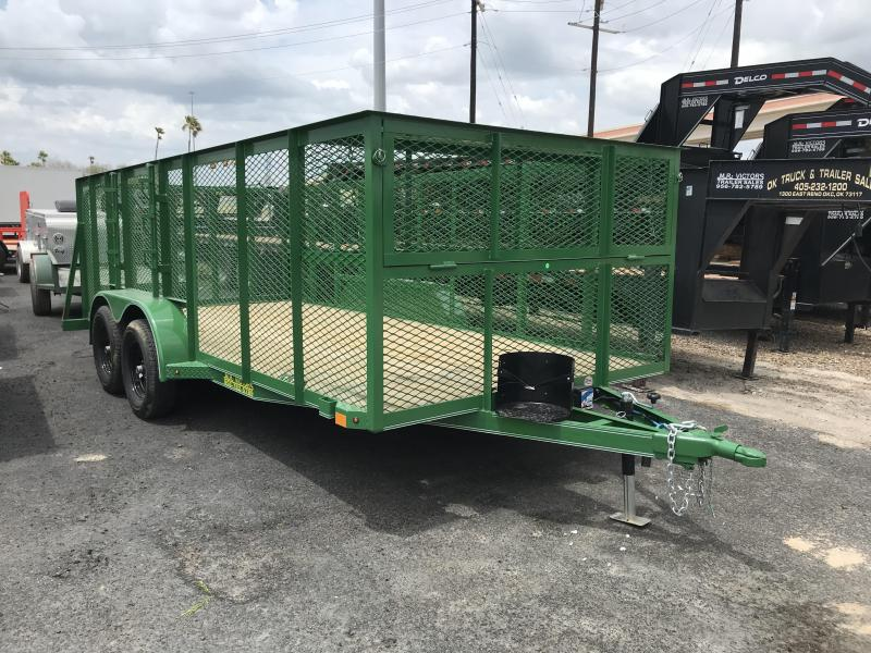 "2020 Mr Victors 83""x16' Landscape Trailer"