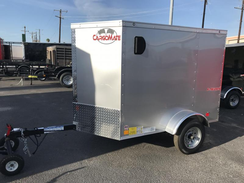 2021 Cargo Mate 4 x 6 Enclosed Cargo Trailer