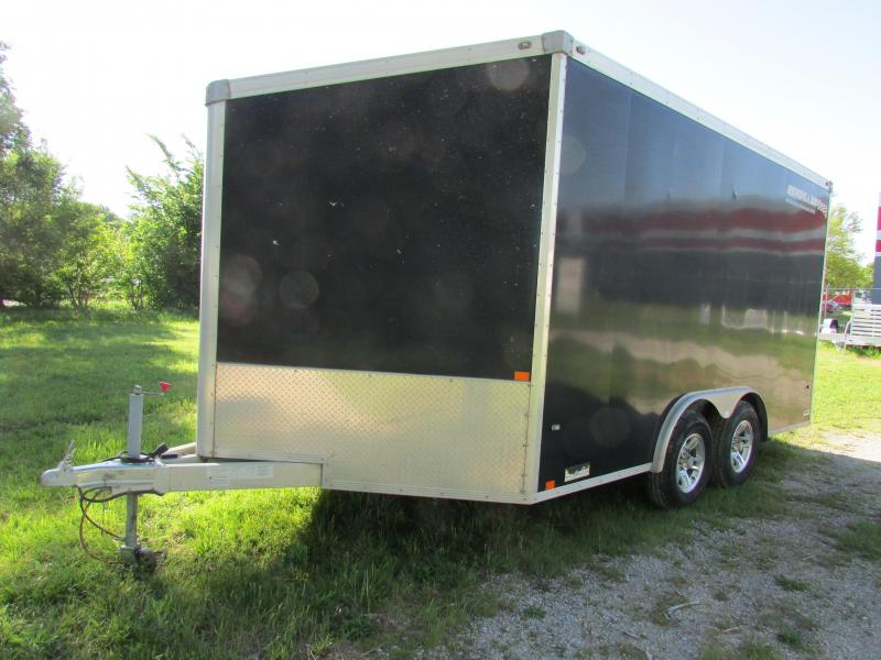 2010 Renegade 8 X 14 Enclosed Cargo Trailer