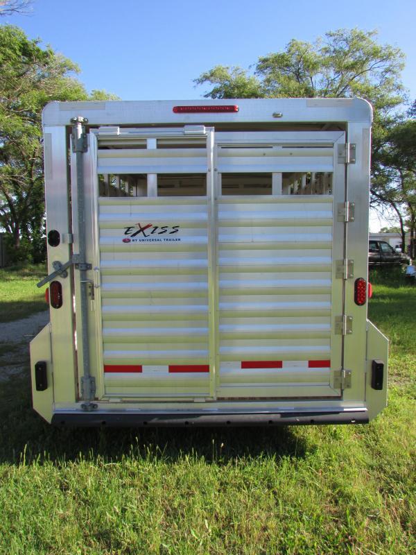 2017 Exiss Trailers STK 7020 Livestock Trailer