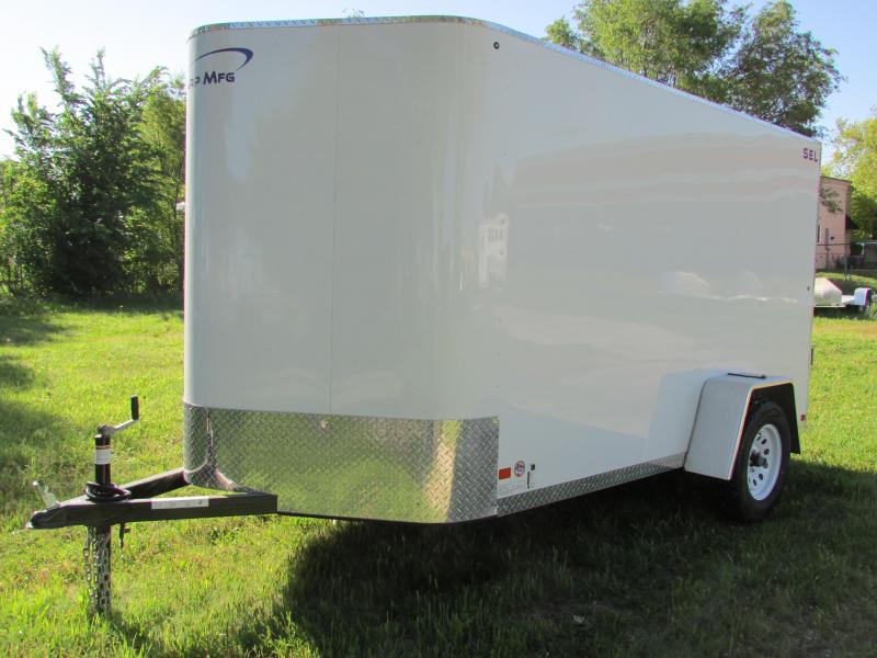 2019 Sharp 6X10 S.E.L. Enclosed Cargo Trailer