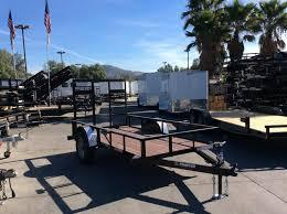 2019 Sun Country 5x8 SUSA Utility Trailer