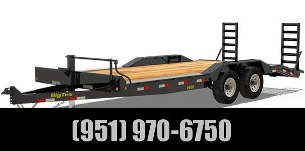 2021 Big Tex Trailers 14DF-22 Equipment Trailer