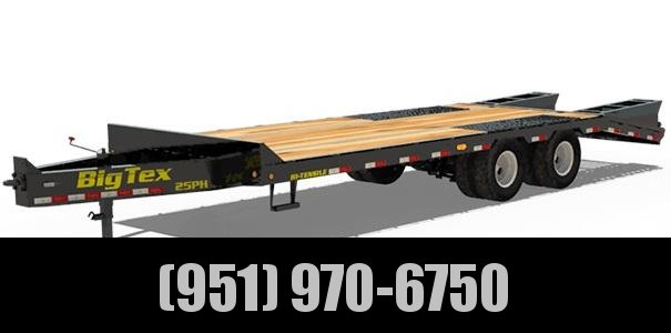 2021 Big Tex Trailers 25PH-25+5 Equipment Trailer