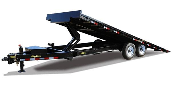 2019 Big Tex Trailers 14OT-26 GN Equipment Trailer