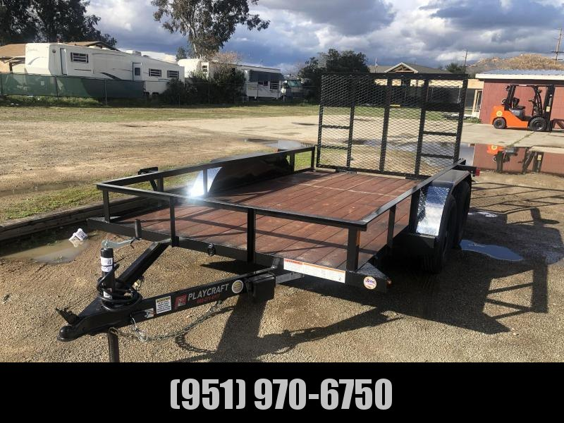 2021 Sun Country LU 82x14 Utility Trailer