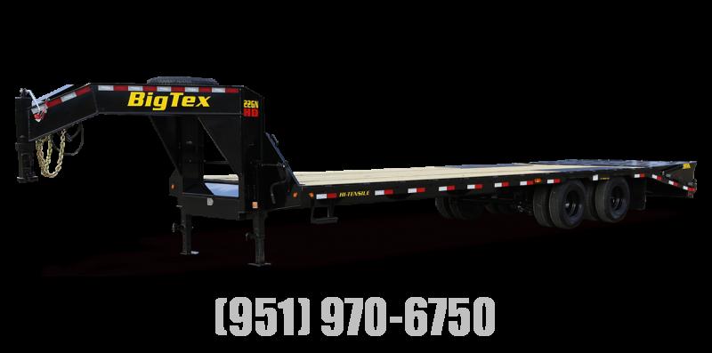 2022 Big Tex Trailers 22GN-20+5 Flatbed Trailer
