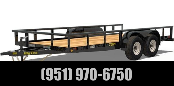 2021 Big Tex Trailers 70PI-16X Utility Trailer