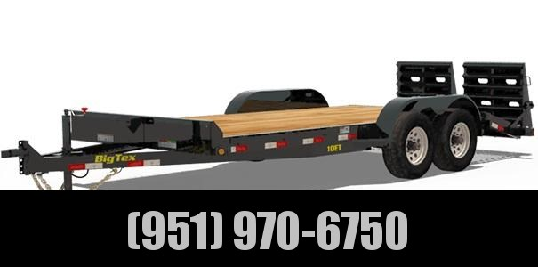 2021 Big Tex Trailers 10ET-18-KR Equipment Trailer