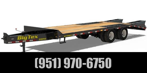 2021 Big Tex Trailers 22PH-20+5 Equipment Trailer