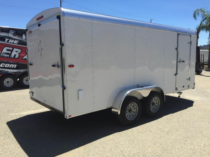 2019 Mirage Trailers 7x16 Xcel Enclosed Cargo