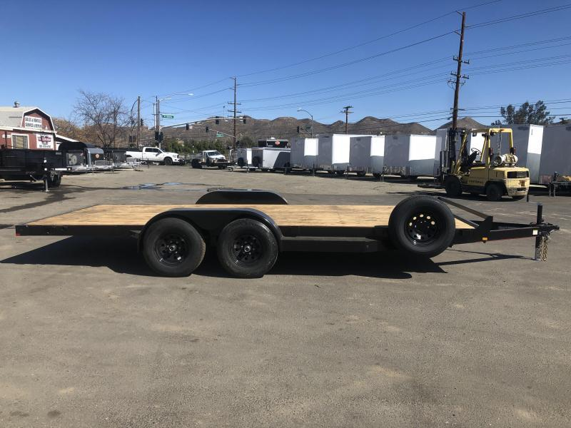 2021 Mirage Trailers UCH 7x18 TA3 Car / Racing Trailer