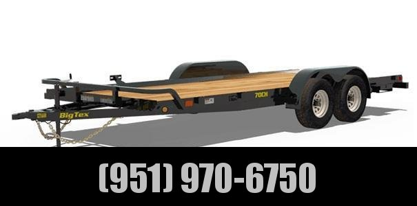 2021 Big Tex Trailers 70CH-18DT Car / Racing Trailer