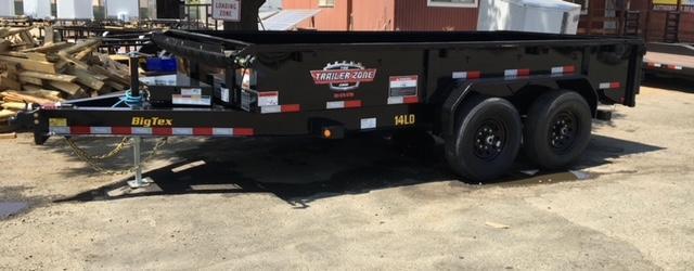 2022 RENTAL Big Tex Trailers 14LD-14 Dump Trailer