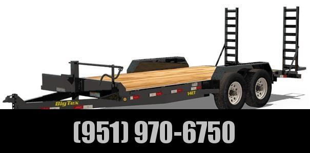 2020 Big Tex Trailers 14ET-18BK Equipment Trailer