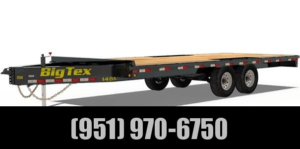 2021 Big Tex Trailers 140A-24 Equipment Trailer