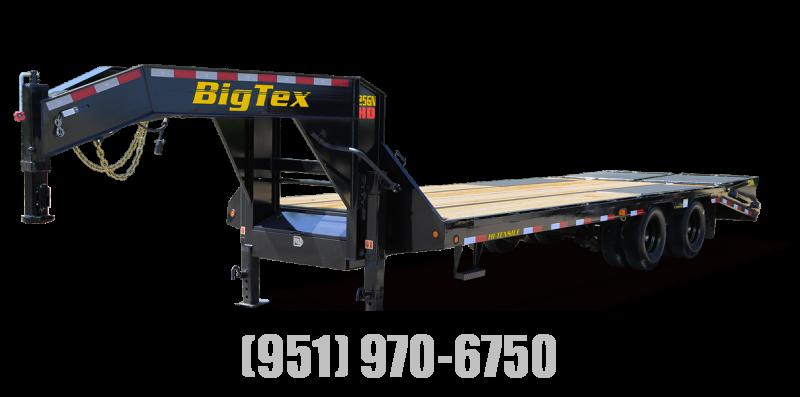2022 Big Tex Trailers 25GN-25+5 Flatbed Trailer