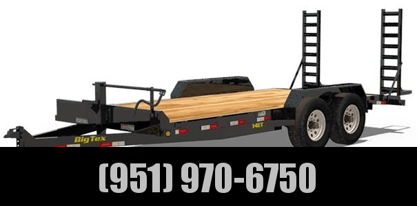 2021 Big Tex Trailers 14ET-20 Equipment Trailer