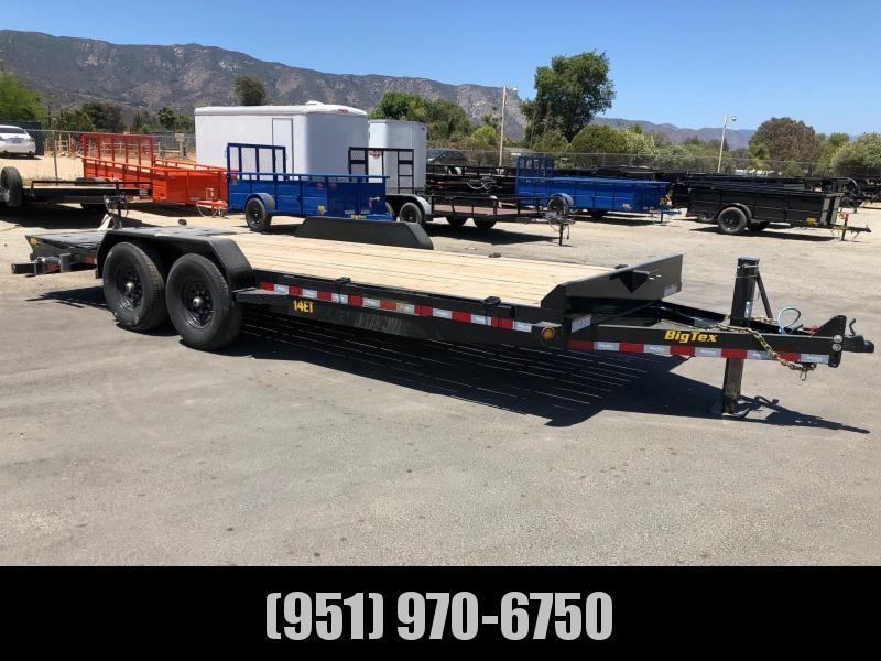 RENTAL - 2021 Big Tex 14ET-83x20 Equipment Trailer
