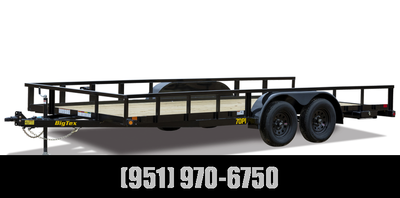 2022 Big Tex Trailers 70PI-22X Utility Trailer