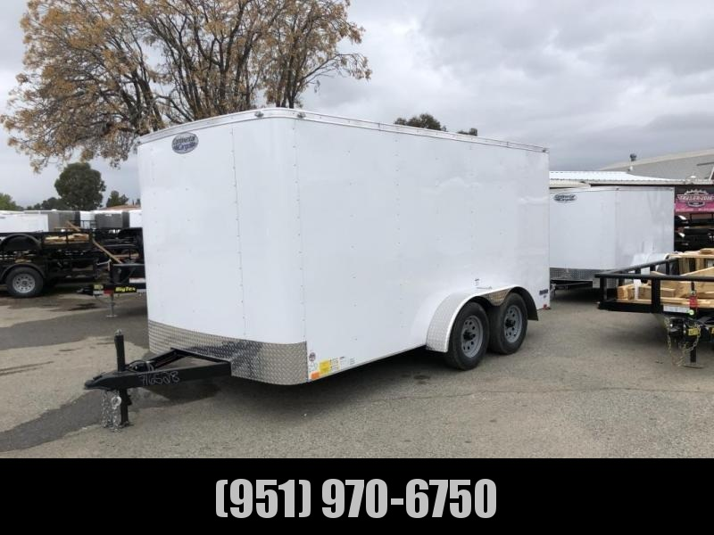 2020 Continental Cargo RM 7X14 TA2 Enclosed Cargo Trailer
