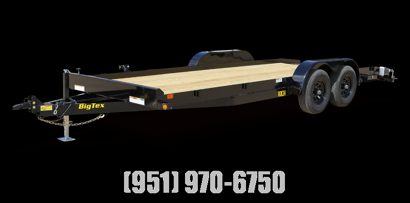 2021 Big Tex Trailers 10CH-18DT Car / Racing Trailer