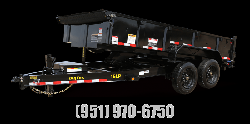 2021 Big Tex Trailers 16LP-16 Dump Trailer