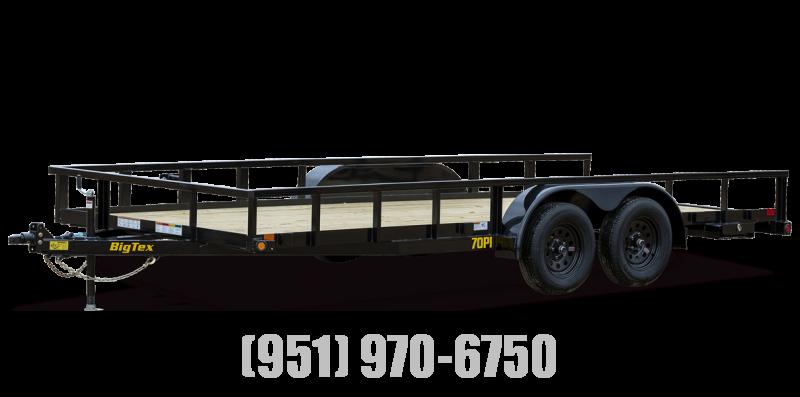 2022 Big Tex Trailers 70PI-18X Utility Trailer