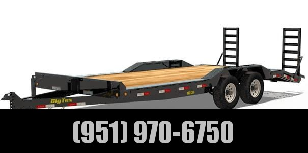 2021 Big Tex Trailers 10DF-18 Car / Racing Trailer