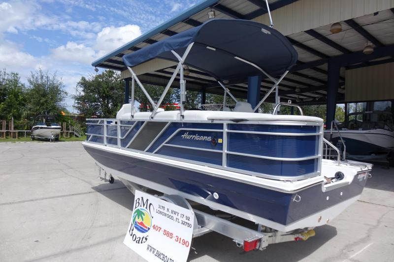 2022 Hurricane Boats FunDeck 196 Fish  OB Deck Boat