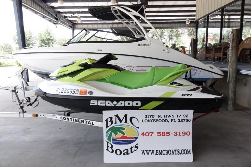 2019 Sea-Doo/BRP GTI 130 PWC (Personal Watercraft)
