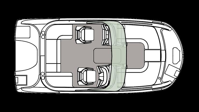 2021 Hurricane Boats Other SunDeck 191 OB Deck Boat