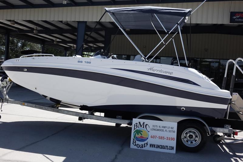 2021 Hurricane Boats Sundeck Sport 192 OB Deck Boat