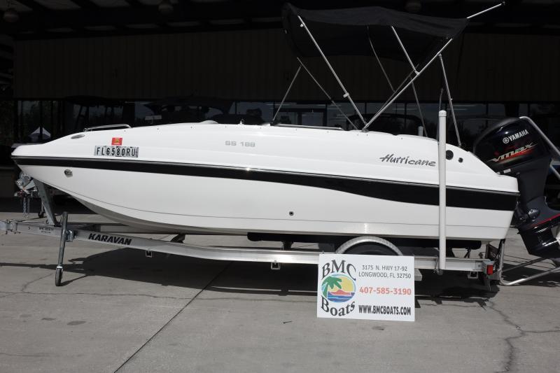 2019 Hurricane Boats SunDeck Sport 188 OB Deck Boat