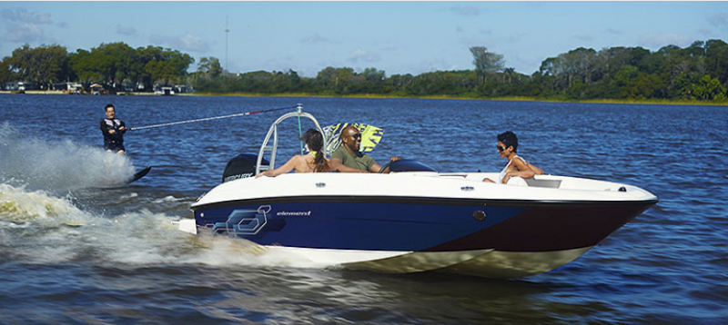 2019 Bayliner Boats Element E18 Deck Boat