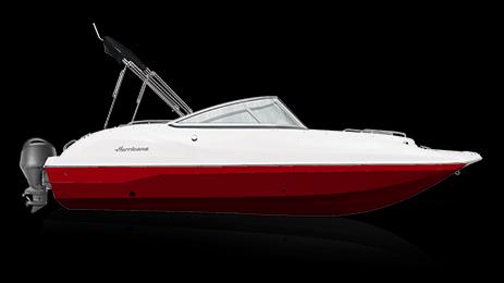 2021 Hurricane Boats SunDeck 187 OB Deck Boat