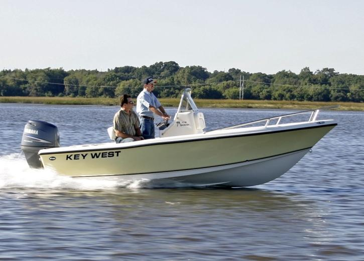 2021 Key West 176CC center_console