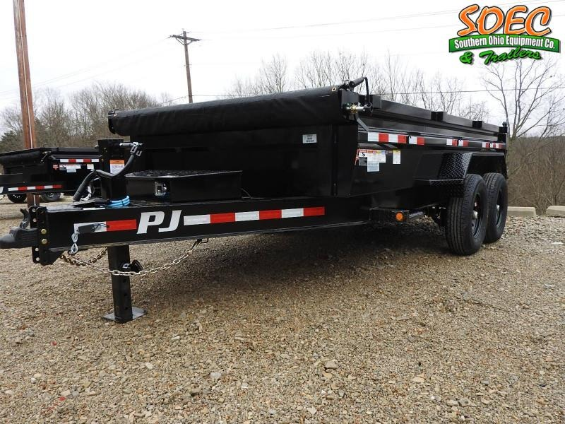 "2021 PJ DL 83"" x 14' Low Pro Dump Trailer"