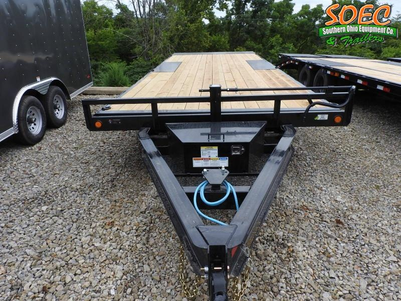 """2022 PJ T8 22' x 102"""" Deck-over Tilt Flatbed Trailer"""