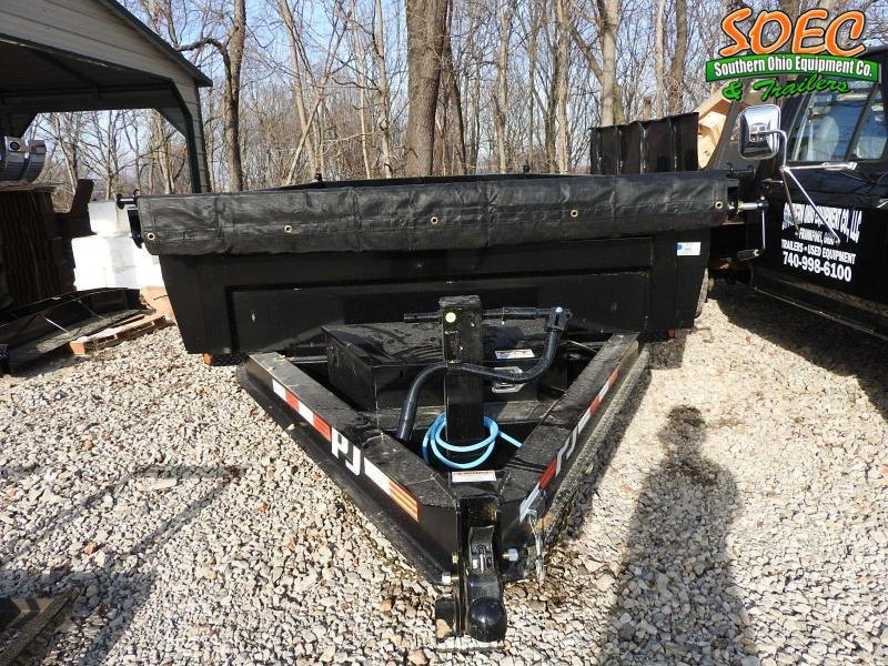 "2022 PJ DL 83"" x 14' Dump Trailer (Tarp Kit)"