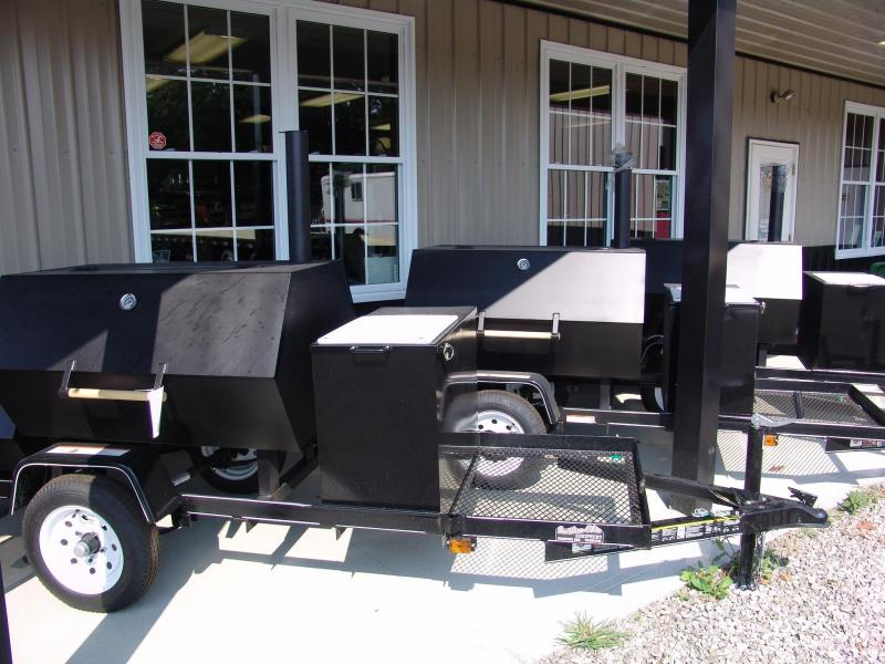 2020 Carry-On 3X4GT Smoker Trailer